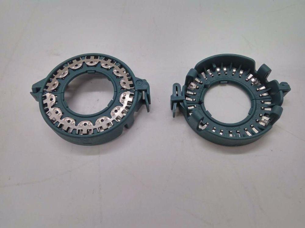 Металлический автомобиль клип кольца D1S D2S зажим для крепления кольцо для 3 дюймов ксеноновой проектора Len HID лампы Автомобильный держатель д...