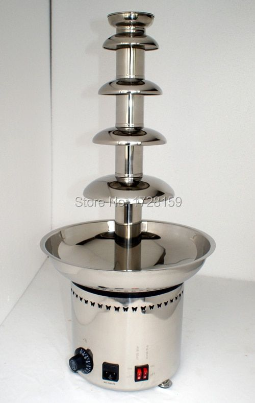 Free shipping china factory price High qualtiy Stainless steel 304 5 layer chocolate fountain chocolate fountain stand