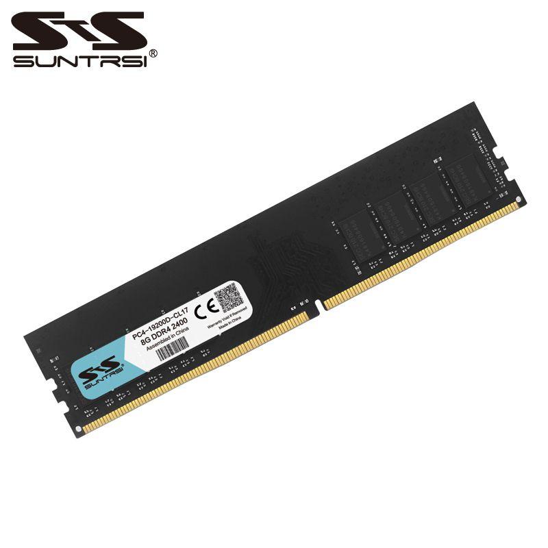 Suntrsi new ram 8GB DDR4 desktop memory 2133MHz 2400MHz 1.2V for desktop computer