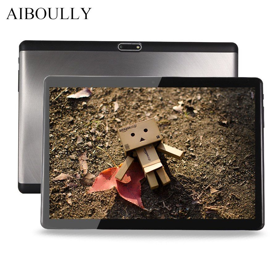 AIBOULLY Original Android Tablet PC 10.1 inch 1920x1200 3G LTE Phone Call Tablets Android 7 OS Octa Core 4G RAM 1280*800 Tab 8''
