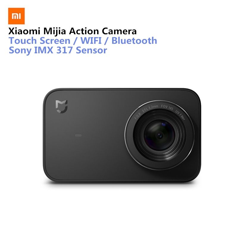 Xiaomi Mijia Mini Sport Action Camera 4K Ramcorder Video Record WiFi Digital Cameras 145 Wide Anglen App Control