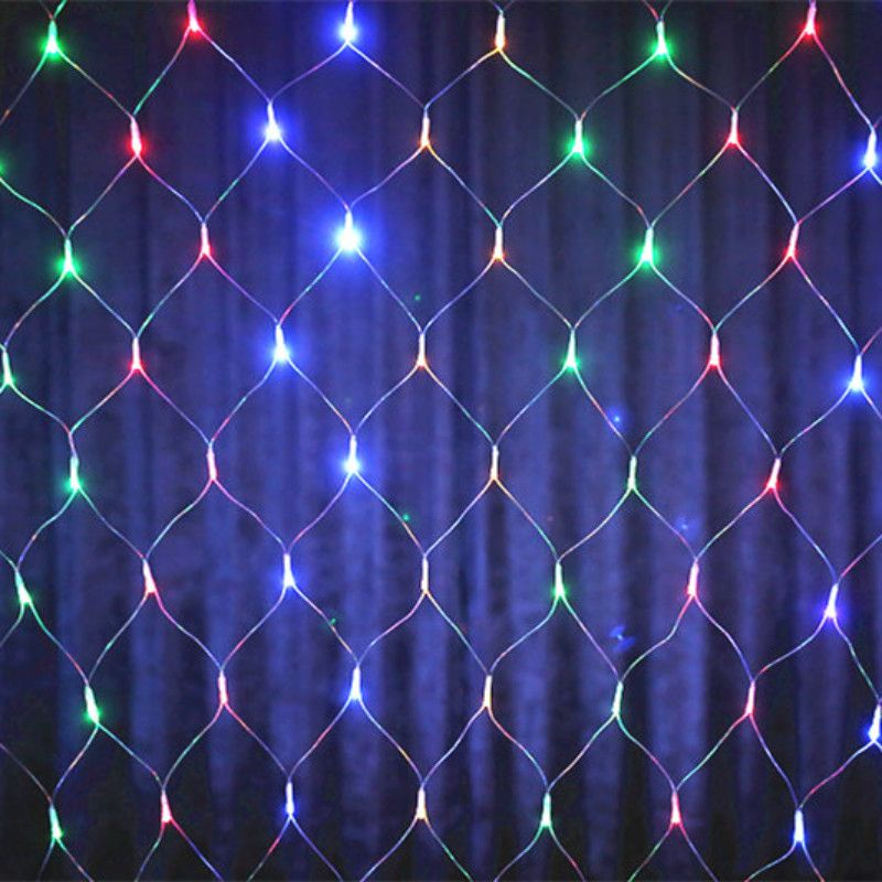 YIYANG 2*2 m 144 LED Net Luz Roja de la Lampara Luces Del Banquete de Boda de Navidad Decoración Al Aire Libre LLEVÓ iluminación A Prueba de agua