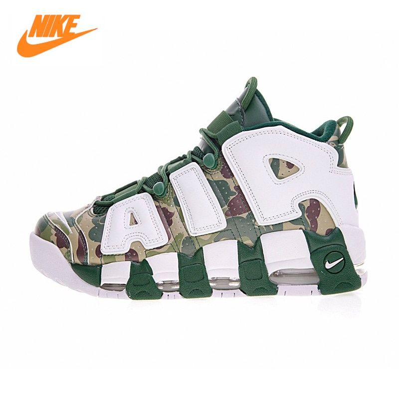 New Arrival Official Nike Air More Uptempo Hoop Pack Breathable Women's Basketball Shoes Sports Sneakers Trainers 921948-602