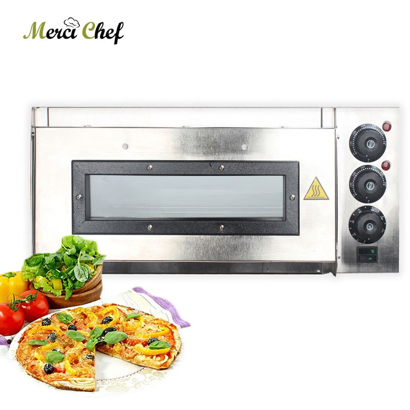 Single Layer Pizza Oven Professional Baking Oven Machine For Restaurant Shop Roast Steak Chicken Cake Bread Electric Oven