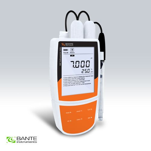 ALL IN ONE Multiparameter portable water quality meter tester pH ORP ion concentration conductivity TDS salinity resistivity DO