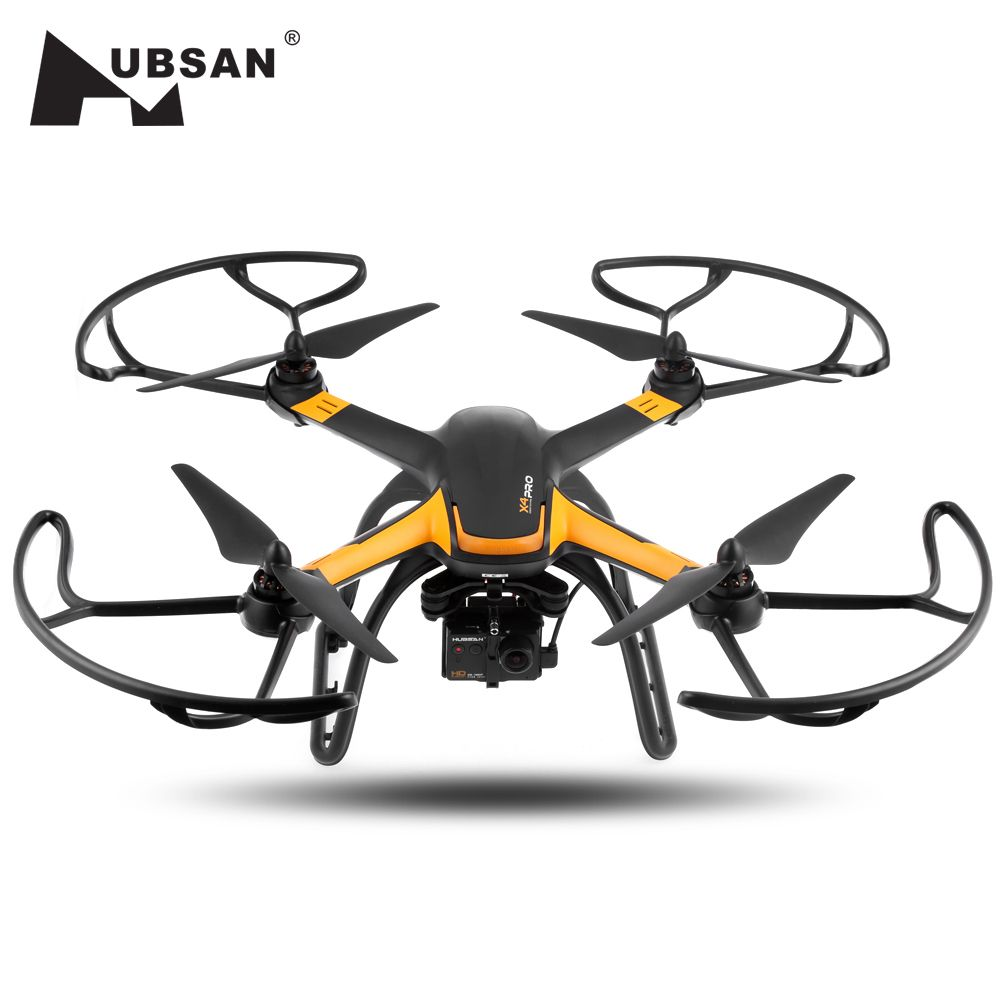 Hubsan H109S X4 PRO Cmera Drone 5.8G FPV 1080P HD Camera GPS 7CH RC Quadcopter with 1-axis Brushless Gimbal RC Drone