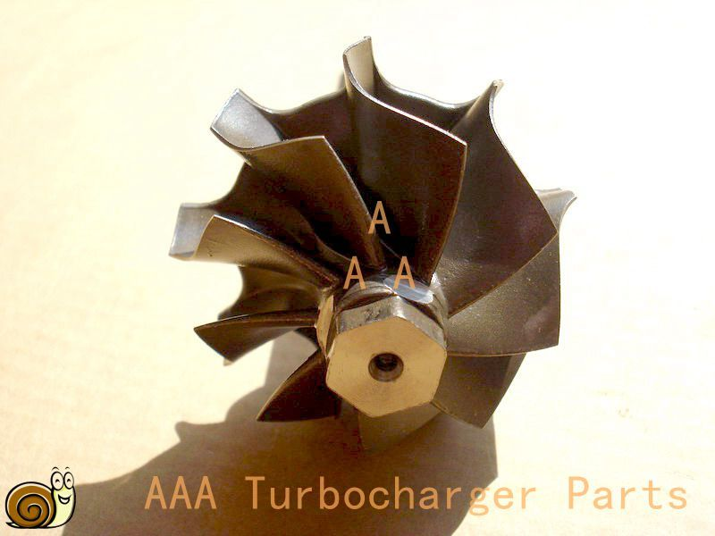 GT20V Turbo parts Turbine wheel size 38.3x47.1mm,9 Blades supplier AAA Turbocharger Parts