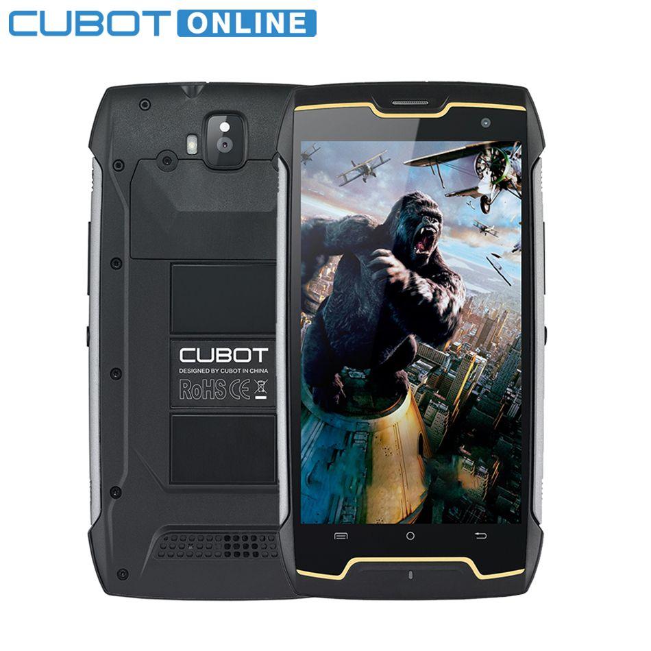 Cubot KingKong IP68 2GB RAM 16GB ROM MT6580 Quad Core Mobile Phone 5.0 Inch HD 4400mAh Waterproof Dustproof Smartphone