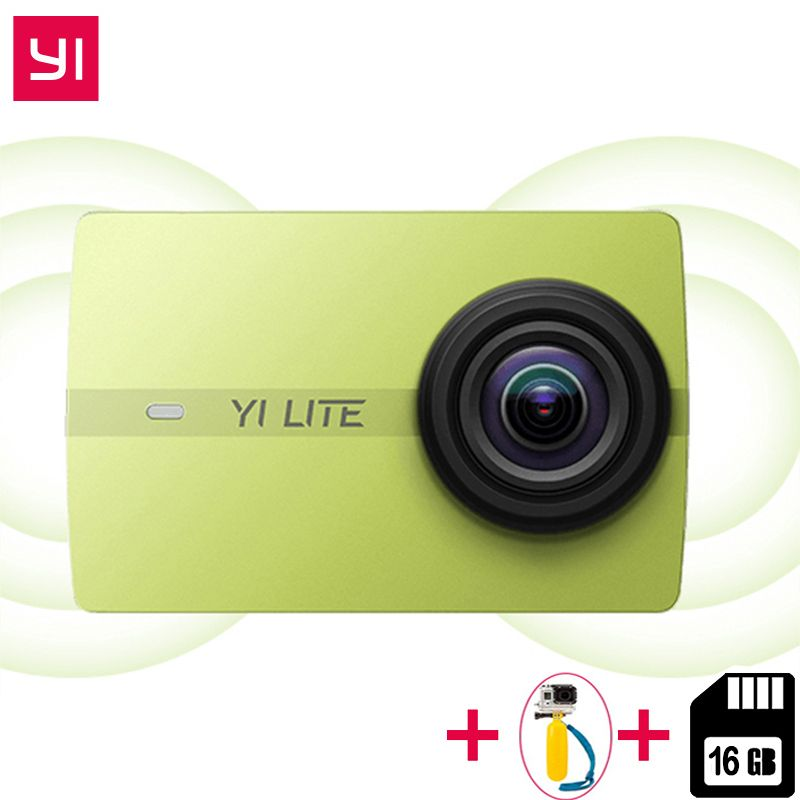 Original Xiaomi YI Lite Action Camera Real 4K Sports Cam Bluetooth 16MP EIS WIFI 2