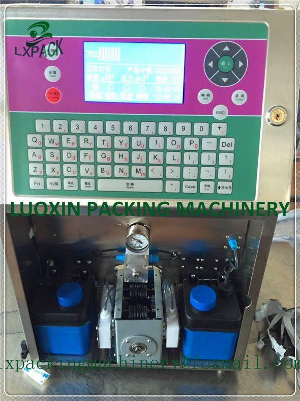 LX-PACK Niedrigsten Fabrik Preis eier druck hand jet drucker bar code software ausrüstung kennzeichnung kosmetische kennzeichnung lebensmittel kennzeichnung