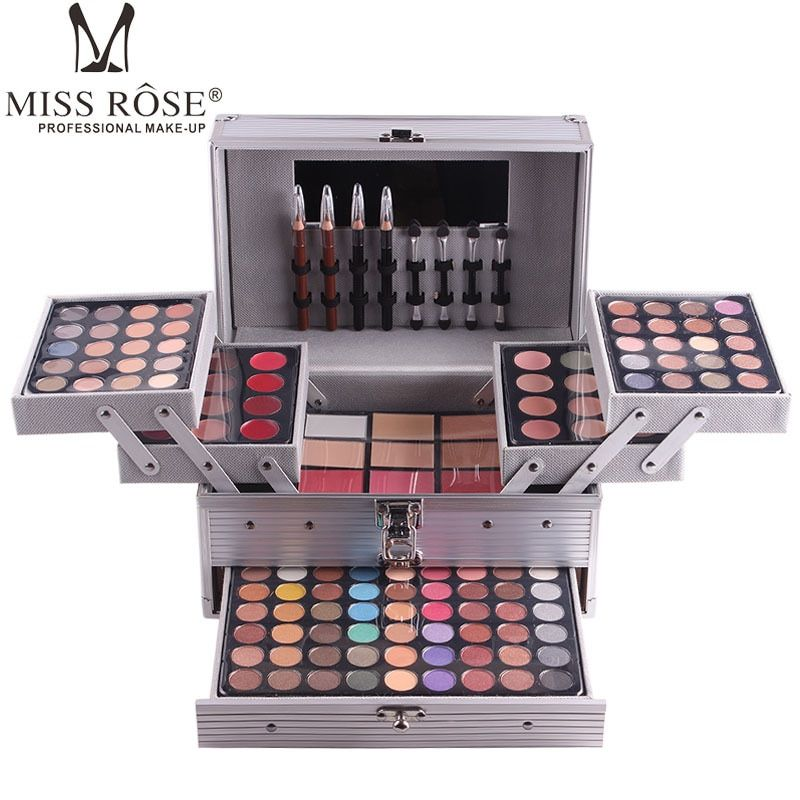MISS ROSE High-end Eyeshadow 132 Colors Professional Makeup Pearly Matte Nude Eye Shadow Palette Lasting Make Up Cosmetic A562