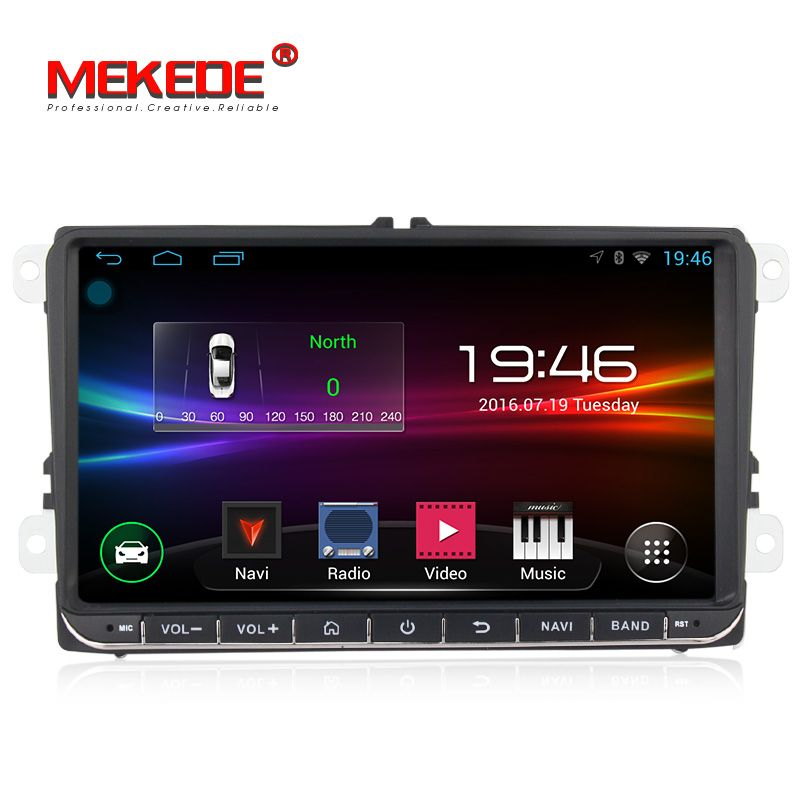 free shipping Android Car DVD multimedia player For volkswage golf 4 golf 5 6 touran passat B6 caddy transporter T5 wifi BT