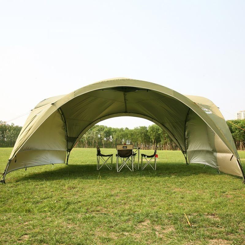 Sommer im freien super große camping zelt baldachin zelt markise werbung zelte Pergola strand zelt ultra anti-uv pavillon