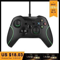 USB Wired Controller Controle For Microsoft Xbox One Controller Gamepad For Xbox One Slim PC Windows Mando For Xbox one Joystick