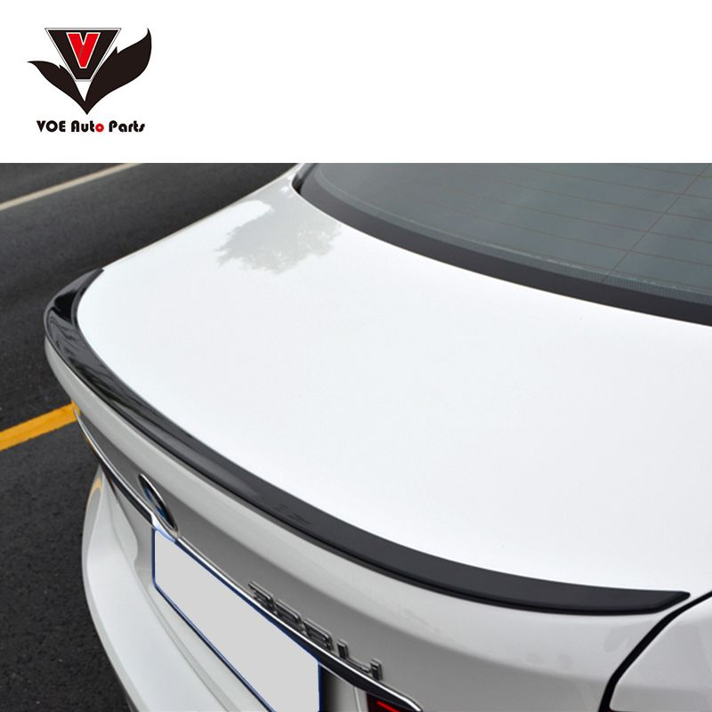 F30 M3 Style ABS Gloss Black painted Rear Wing Lip Spoiler for BMW 2013 2014 2015 2016 F30 3 Series 320i 328i 335i Sedan