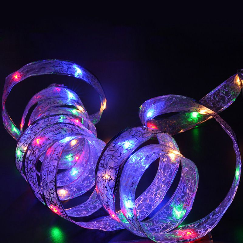 4M LED Christmas Holiday LED Light Battery-Powered Led String Lights for Home Garden Party Decoration Lamp with 40 Led Bulbs