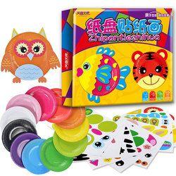 Montessori Pendidikan DIY Mainan Menggambar Piring Lukisan Mainan Colorful Kreatif Awal Belajar Mainan Untuk Anak Hadiah CZ2448H