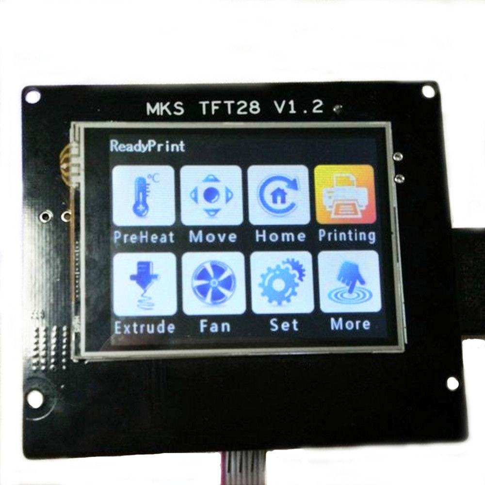 2.8 MKS TFT28 V1.3 touch screen smart controller Support U disk and SD card for 3D printer