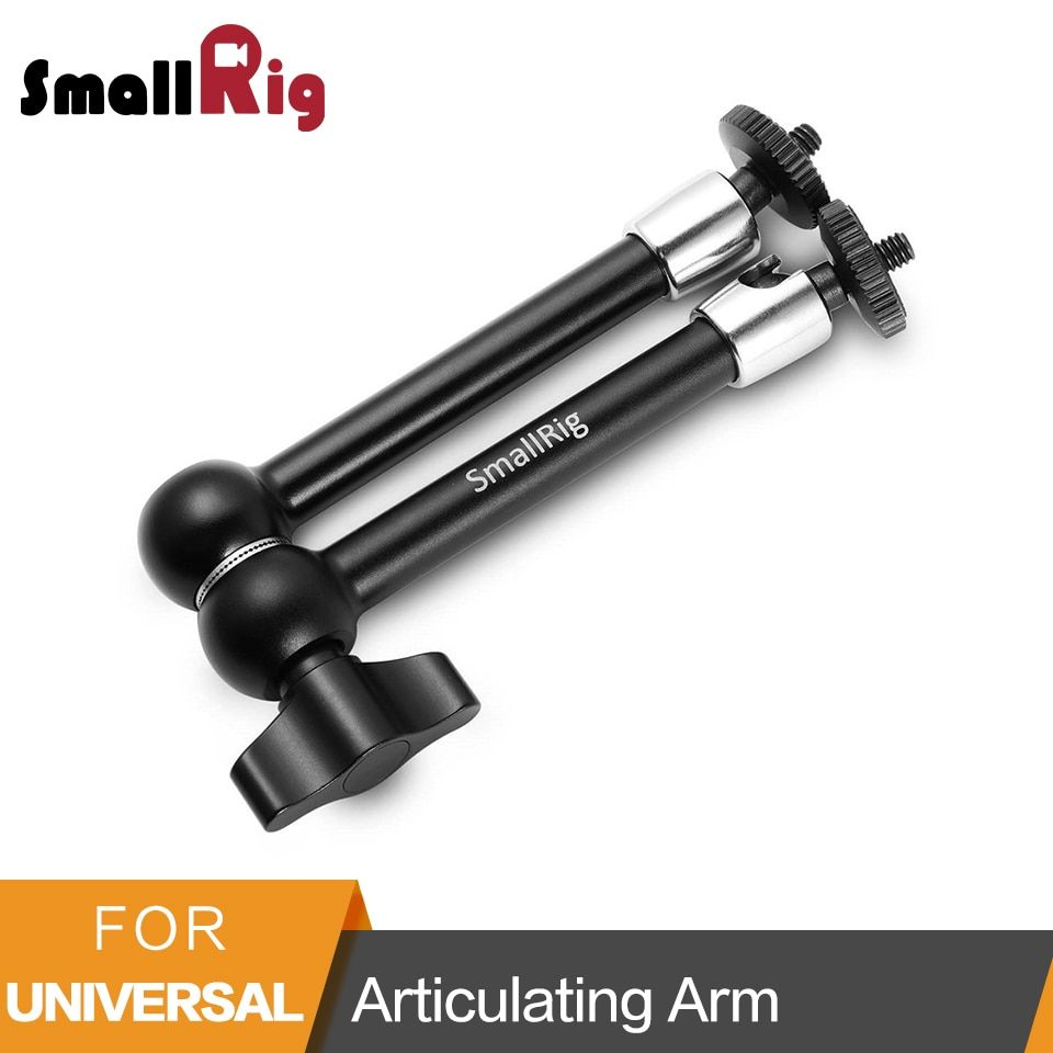 SmallRig 11 inch Articulating Rosette Arm 1/4