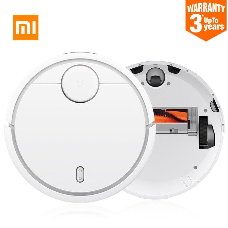3 year warranty! Original Xiaomi Sweeping Robot Intelligent Robot Household Smart Automatic Efficient Vacuum Cleaner APP Control