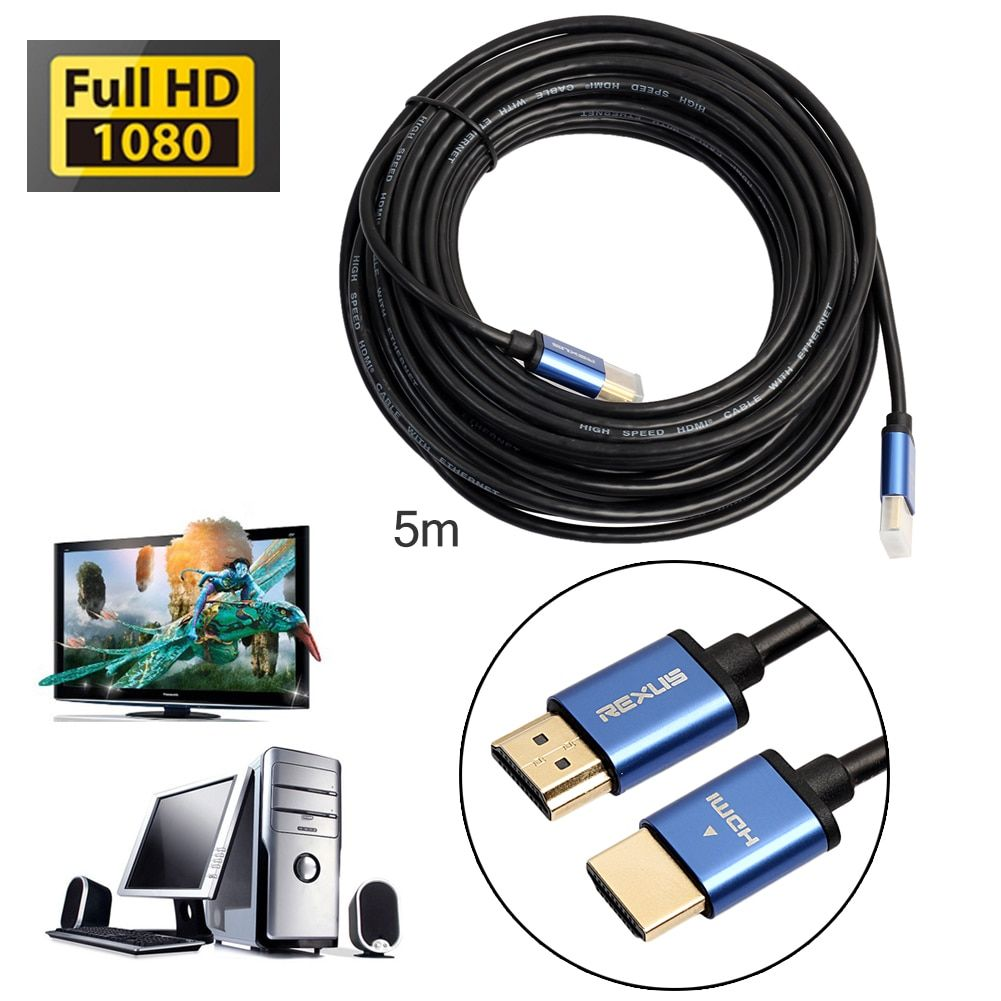 High Speed 10M 15M HDMI Male to HDMI Cable 1080P 3D for HD TV For hdmi extender For PlayStation 3 and for Xbox 360 hdmi cable
