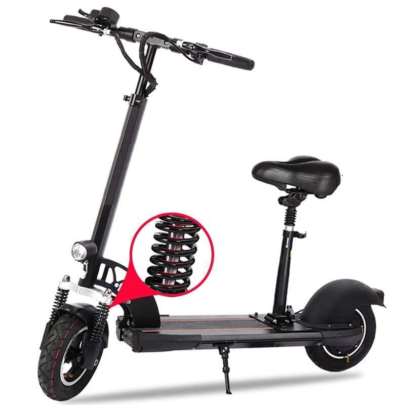 Klapp Fahrrad Elektrische Roller 500 watt Motor 10 zoll zwei rad E-Roller Dämpfung Faltbare Elektrische Skateboard für erwachsene