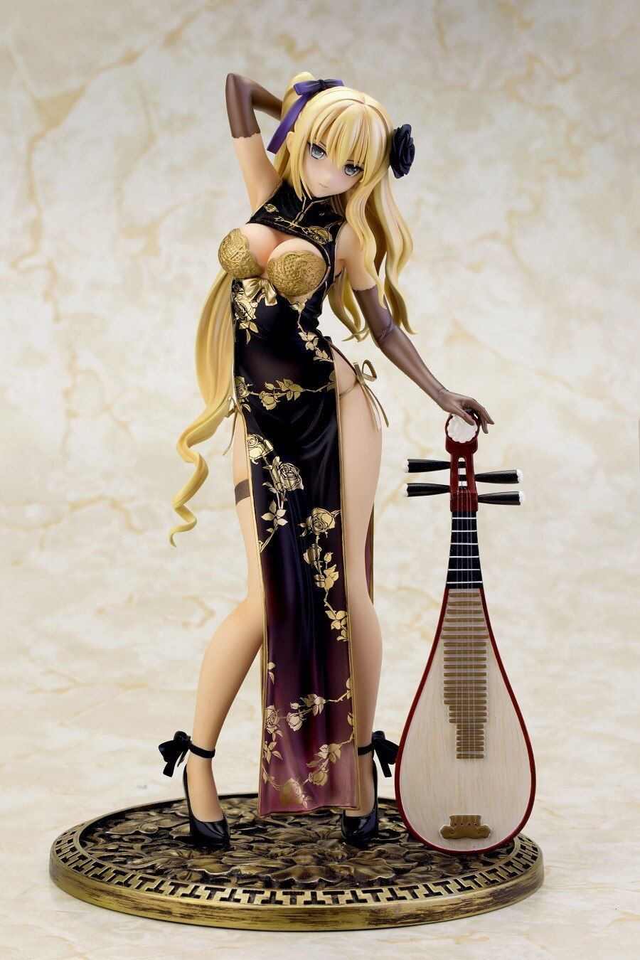 Anime Sexy Girls Ping Yi Cheongsam 1/6 Scale figure fantasy Cast Off PVC Action Figure girl doll Gift 24cm