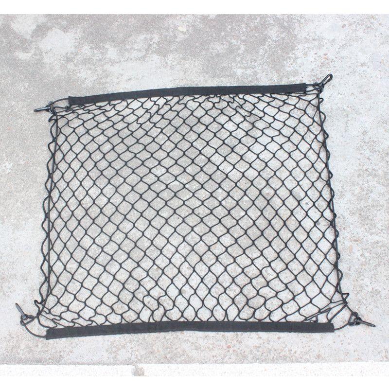 4 HooK Car Trunk Cargo Mesh Net Luggage For BMW E46 E52 E53 E60 E90 F01 F20 F10 F30 F15 X1 X3 X5 X6