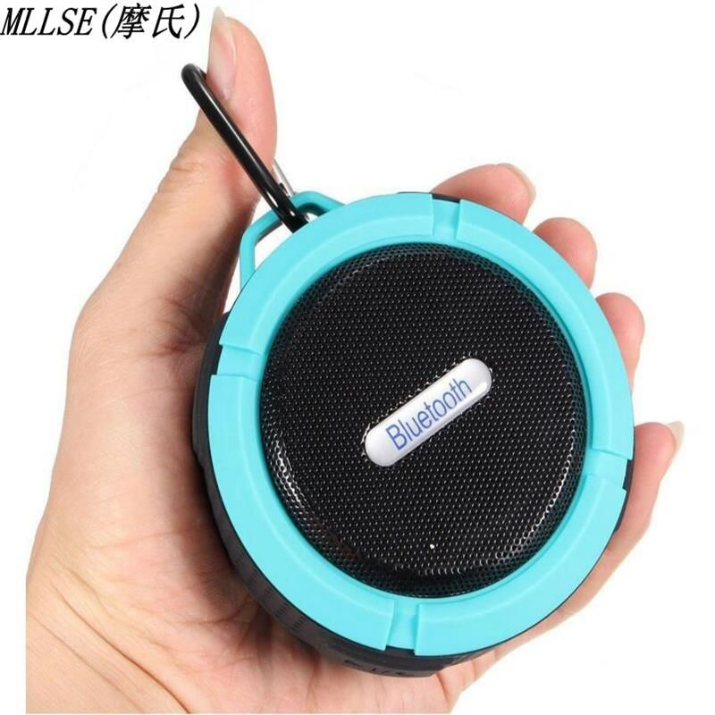 MLLSE Waterproof Stereo Wireless Bluetooth Speaker Shower Speaker with Sucker Support Hands-free Calls For Laptop Smartphone MP3