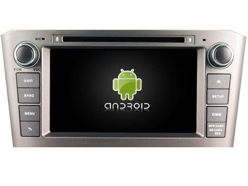 Navirider Android8.0 radio tape recorder octa Core 4GB RAM 32GB rom with IPS screen for TOYOTA AVENSIS 2005-2007 head unit