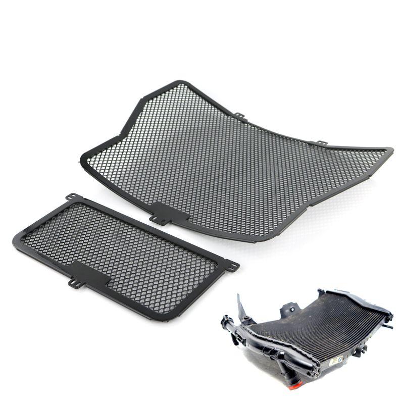 Heizkörper Schutz Grill Öl Kühler Abdeckung Schutz Für BMW S1000R S1000RR S1000XR HP4 Schwarz 2009-2016
