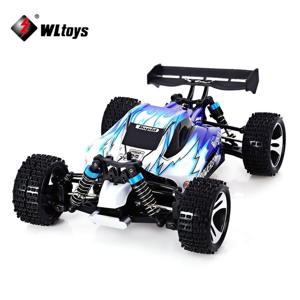 Wltoys A959 RC Car High speed Off-Road 2.4G Radio Remote Control Model Scale 1:18 Rally Shockproof Rubber wheels Buggy Truck