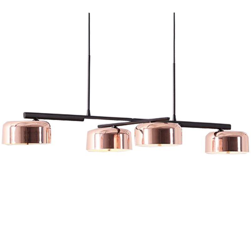 Postmodern Lalu Pendant Lamp de Seed Design 4 heads pendant lights for dining room bar office E27 lustre pendente de teto