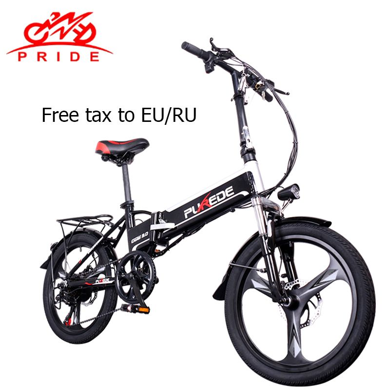 Elektrische Fahrrad 48V12. 5A Lithium-Batterie 20 zoll Aluminium Klapp Elektrische Fahrrad 350 W Leistungsstarke Berg e fahrrad Schnee/strand ebike