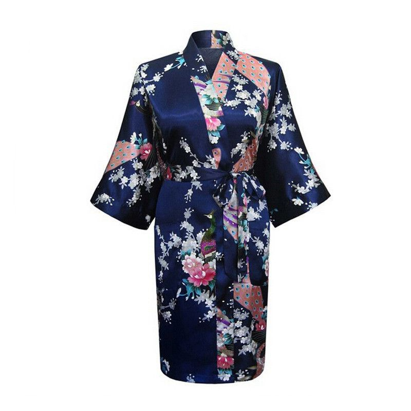 Горячий продажам 2017 женщины gightgowns половины рукав Китайский цветы печати удобные мягкие нижнее белье сексуальная ночная рубашка плюс разме...