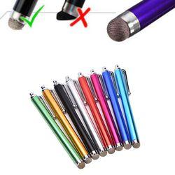 1 stück Universal Metall Mesh mini Faser Spitze Touch Screen Stylus Pen Für iPhone Für Samsung Smart Phone Tablet PC fibre Stylus