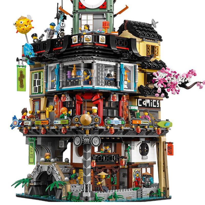 4932Pcs The Movies Series Creative City Model Educational Building Blocks Bricks Toys Model Compatible With Legoings 70620