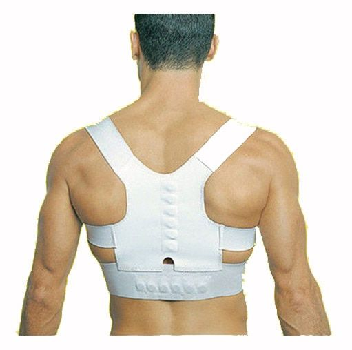 Medical Orthosis Corset Back Brace Posture Correction Shoulder Brace Sport Magnetic Posture upper Back Support Corrector