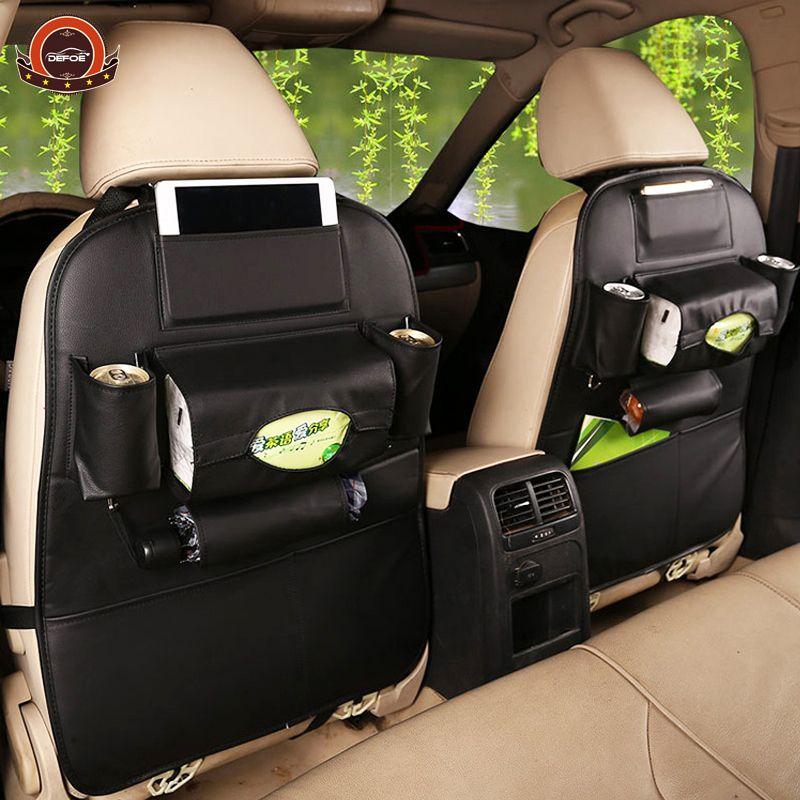 2018 New Car <font><b>seat</b></font> storage bag Hanging bags car <font><b>seat</b></font> back bag Car child safety <font><b>seat</b></font> car steat back bag Multifunction storage box