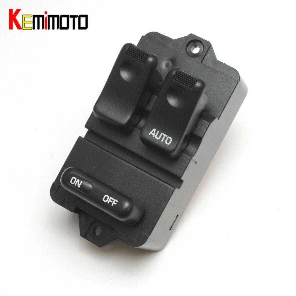 KEMiMOTO Bongo Window Switch Front Right Power Master Window Switch for Mazda 323F 1994-1998