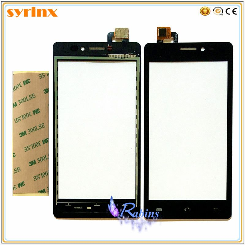 5.0 inch Touch Screen Digitizer Panel Glass Lens For Prestigio Wize K3 PSP3519 DUO PSP3519dou Touchscreen Sensor 3M Tape