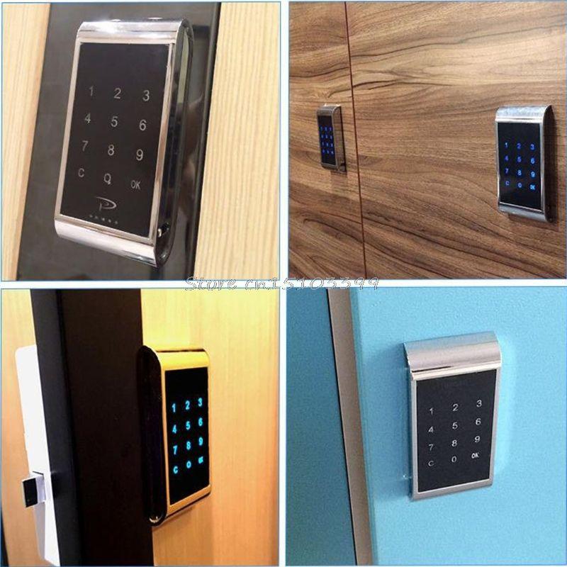 Ящик Комбинации блокировки сенсорной клавиатурой пароль ключ доступа замок двери шкафа цифровые электронные безопасности кодовый для шка...