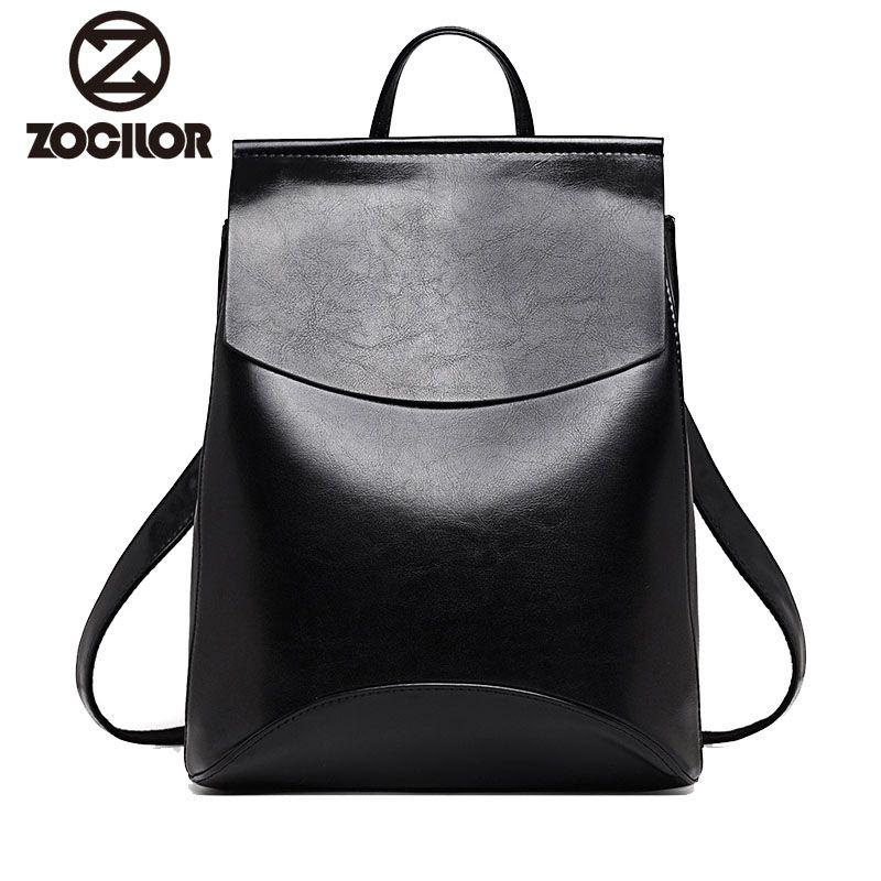 Mode femmes sac à dos de haute qualité jeunes sacs à dos en cuir pour adolescentes femme école sac à bandoulière sac à dos mochila