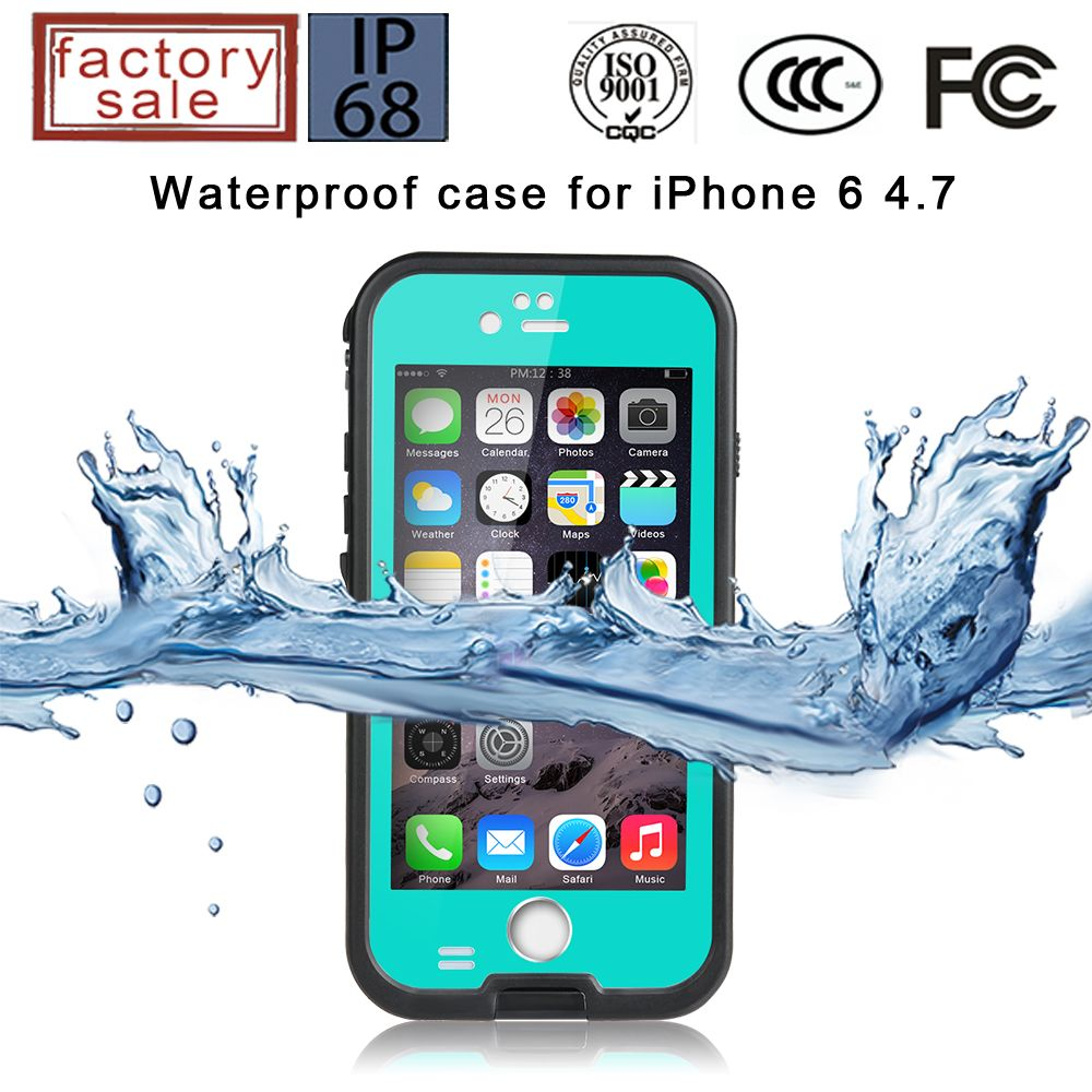 30pcs/lot Original Redpepper XLF series Waterproof Case For IPhone iphone 6s iphone 6splus with Finger Print Capabilty