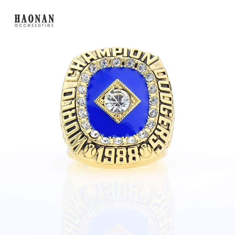 Replica Championship ring 1988 LA Dodgers ring World Series Championship Rings size 11 World Series