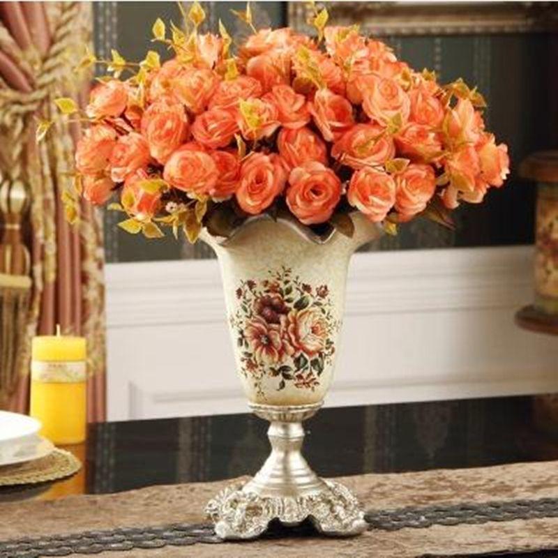 Fleur vase, Ameublement décoratif artisanat, décoration de noël et de mariage décoration