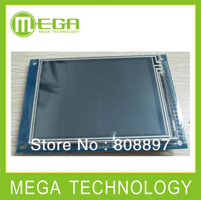 1pcs,Free shipping 3.2inch TFT LCD Module+touch panel+ Color Panel + Drive IC : ILI9341 ( 3.2inch LCD )