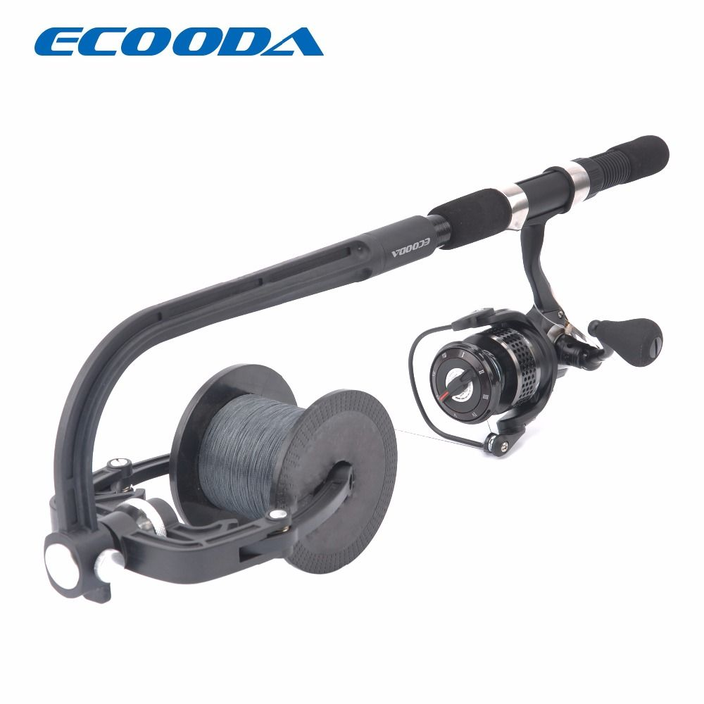 ECOODA Fishing Line Spooler Portable Reel Spool Spooling Station System for Spinning or Baitcasting Fishing Reel Line Winder