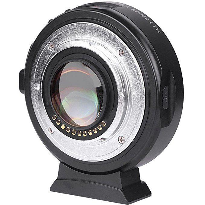 Viltrox EF-M2 AF Auto-fokus EXIF 0.71X Reduzieren Speed Booster Objektiv Adapter Turbo für Canon EF objektiv zu M43 kamera GH4 GH5 GF6 GF1
