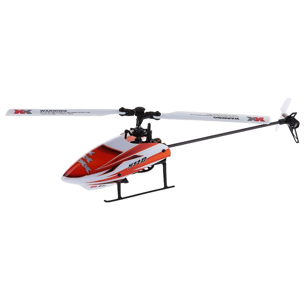 Original RC XK K110 6CH RC RTF 3D Kunstflug Flybarless Hubschrauber RTF Brushless Set High Power Lipo Batterie